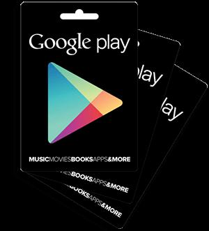 tarjetas de regalo google play mexico gratis
