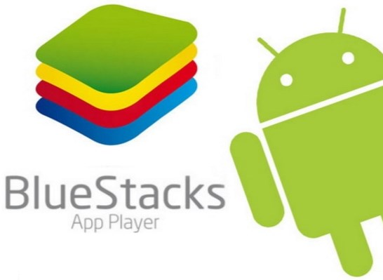 bluestacks con muñeco android